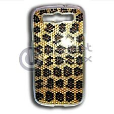 LEOPARD BLING RHINESTONE HARD CASE COVER FOR SAMSUNG GALAXY S3