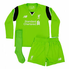 Liverpool FC  LFC Home Infant Goalkeeper Kit 16/17 Official