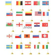 "1pc 14 x 21cm 5.5 x 8.3"" Hand Held or Table Top Flags International Country Flag"