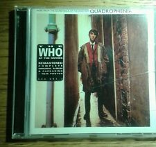The Who ‎– Quadrophenia, remastered cd