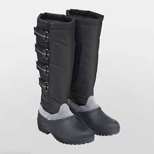 Harry Hall Torrent Long Winter Snow Boots - Thermal Inner Sock black or brown