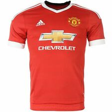 Adidas Manchester United FC Home Jersey 2015 2016 Mens Red EPL Football Soccer