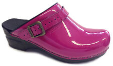 Sanita 'Freya patent' Flexible Patent Clogs (Art: 457548) - Fuchsia