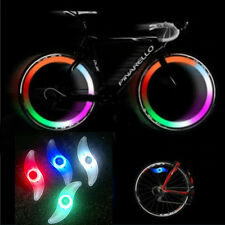 3 Mode Bike Bicycle Cycling Spoke Wire Tire Tyre Wheel LED Bright Light Lamp UK
