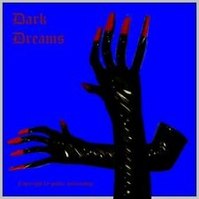 Gothic Vampire Lacquer Gauntlets extra long black