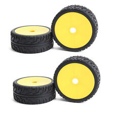 4PCS 17mm Hex RC 1/8 Off Road Car Buggy Wheels With Foam RC Rubber Tyre Tires