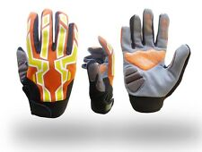 Motocross Motorcycle Biker Gloves Full Finger Protective Gloves size Small,Med