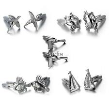 Vintage Men's Suits Animal Shape Cufflinks for Wedding Party Gifts