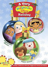 A Very Playhouse Disney Holiday (DVD, 2005) Animated Used