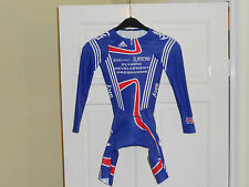 Team Issue GB SKY Olympic development Rider Issue cycling skinsuit bike shorts