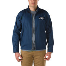 VANS REFINERY 66 STATION JACKET DRESS BLUES MENS CASUAL WINTER CLEARANCE