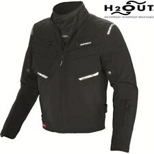 Spidi H2OUT Adventurer Textile Motorcycle Jacket Black eol
