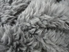 Scrap lightweight faux fur light grey 1cm pile - 20