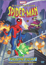 ✔Sealed The Spectacular Spider Man Volume eight 8 (DVD ) Marvel  NO TAX