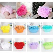 Baby Girls Toddler Tulle Ruffles Bloomer Nappy Cover Diaper Panties Shorts 3-24M