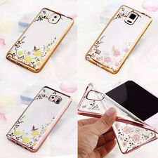 New For Samsung Note 3 4 5 Soft Transparent TPU Rubber Silicone Phone Case Cover