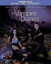 The Vampire Diaries: The Complete Third Season Blu-ray Disc, 2012, 9-Disc Set,