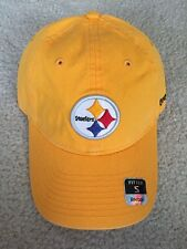 Brand New Pittsburgh Steelers Reebok Slouch Relaxed Sideline Hat Ball Cap