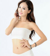 One Size Sexy Women Bandeau Seamless Bra Tube Tank Top Strapless Stretch
