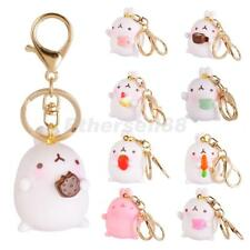 Fashion Cartoon Rabbit Charm Pendant Purse Bag Keyring Key Chain Car Hangings