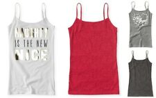 Aeropostale Women's Basic Cami Top - Lace Front or Graphic Print, Size XS