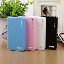 Portable Dual USB Power Bank Case Kit 6X 18650 Battery Charger Box For Cellphone