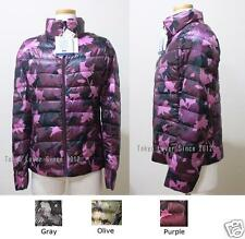 UNIQLO Women Water Defender Ultra Light Down Camouflage Jacket M size from Japan