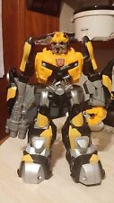 "Transformer Talking Robot Bumblebee Hasbro 2009 Talking 10"" Firing Action Figure"