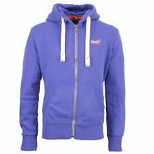 Superdry Hoodie Sweat Jacket royal blue M20MA002 Ocean blue