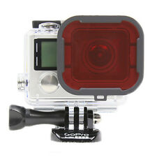 Polar Pro GoPro Snorkel Red Hero 3+ 4 Standard 40m Housing Filter P2001