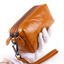Genuine Leather Women Multi-function Purse Wallet Handbag Card Coin Holder Case