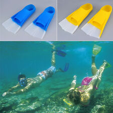 Adult Youth Summer Silicone Swimming Snorkeling Training Short Fins Swim Flipper