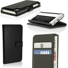 PU Leather Flip Wallet Case for Sony Xperia Z5 E6603 E6653 Stand Folio Cover