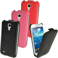 PU Leather Flip Case Cover for Samsung Galaxy S4 MINI I9190 9195 Optus Variant