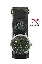 Rothco 4340 Watch With Compass - Olive Drab