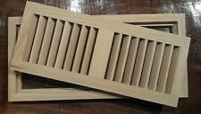 Wood Vents Flush Mount EXOTIC SPECIES Multiple SIZES OVERSTOCK SALE