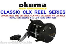 OKUMA CLASSIC CLX MULTIPLIER REEL FOR SEA SURF BEACHCASTER BOAT ROD FISHING RIGS