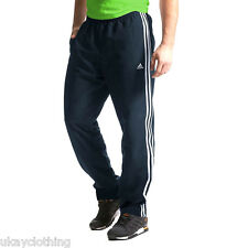 adidas Climalite Essentials Woven Tracksuit Pant Bottoms Navy NTP5