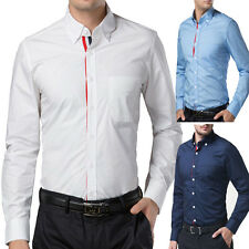 NEW Promotion! Sexy Long Sleeve Mens Casual Formal/Business Dress Shirt Tops HOT