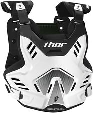 NEW THOR SENTINEL GP CHEST PROTECTOR WHITE BODY ARMOUR ADULT MOTOCROSS MX CHEAP