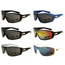 Sunglasses Designer Black Fashion Shield Sport Khan Shades Mens Driving New