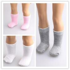 """1 Pair Socks Stockings for 18"""" American Girl Doll Clothes Accessories 3 Colors"""