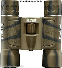 Bushnell Powerview 12x25 Compact Folding Roof Prism Binocular Camouflage