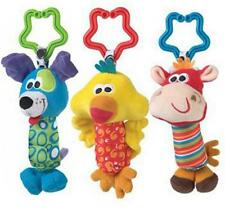 New Kids Baby Soft Animal Handbells Rattles Bed Stroller Bells Developmental Toy