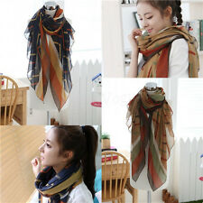Fashion Women Lady Soft Long Scarf Large Wraps Shawl Scarves Stole Scarves 151