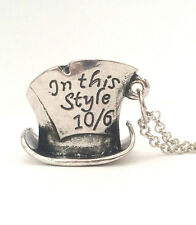 Alice in Wonderland Through the Looking Glass Necklace Jewellery Gift
