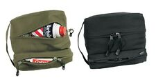 Rothco 9126 Canvas Dual Compartment Travel/Shave Kit Bag - Olive Drab or Black