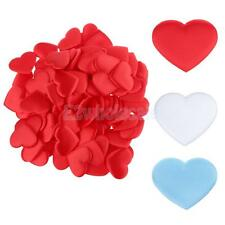 100pcs Satin Scatter Love Heart Table Confetti Wedding Favour Party Decor
