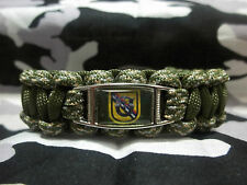 US ARMY 39th Special Forces DET 1st SF RGT AIRBORNE Paracord Bracelet SOCKOR