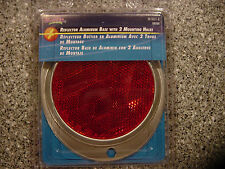 Blazer B888R Oval Aluminum Reflector - Red  *New/Sealed*
